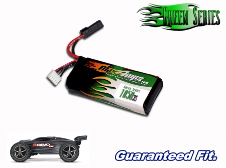Green Series Life 1050 3-cell 9.9v E-Revo VXL Battery Pack