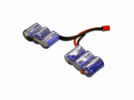 Maxamps Nimh 1600 6 Cell Saddle Battery Pack