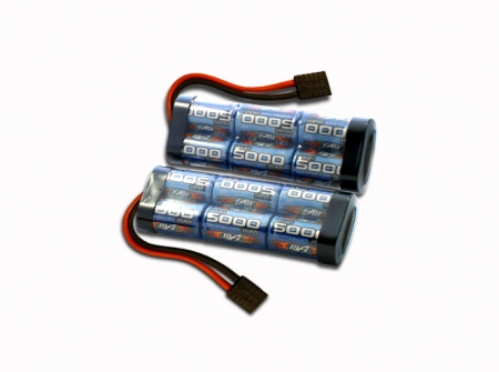 NiMh 5000 6 Cell Shotgun 14.4V Pair