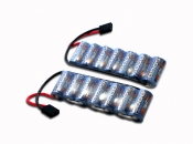 MaxAmps NiMh 5000 7 Cell Flat 16.8V Pair for E-Revo® / Summit®